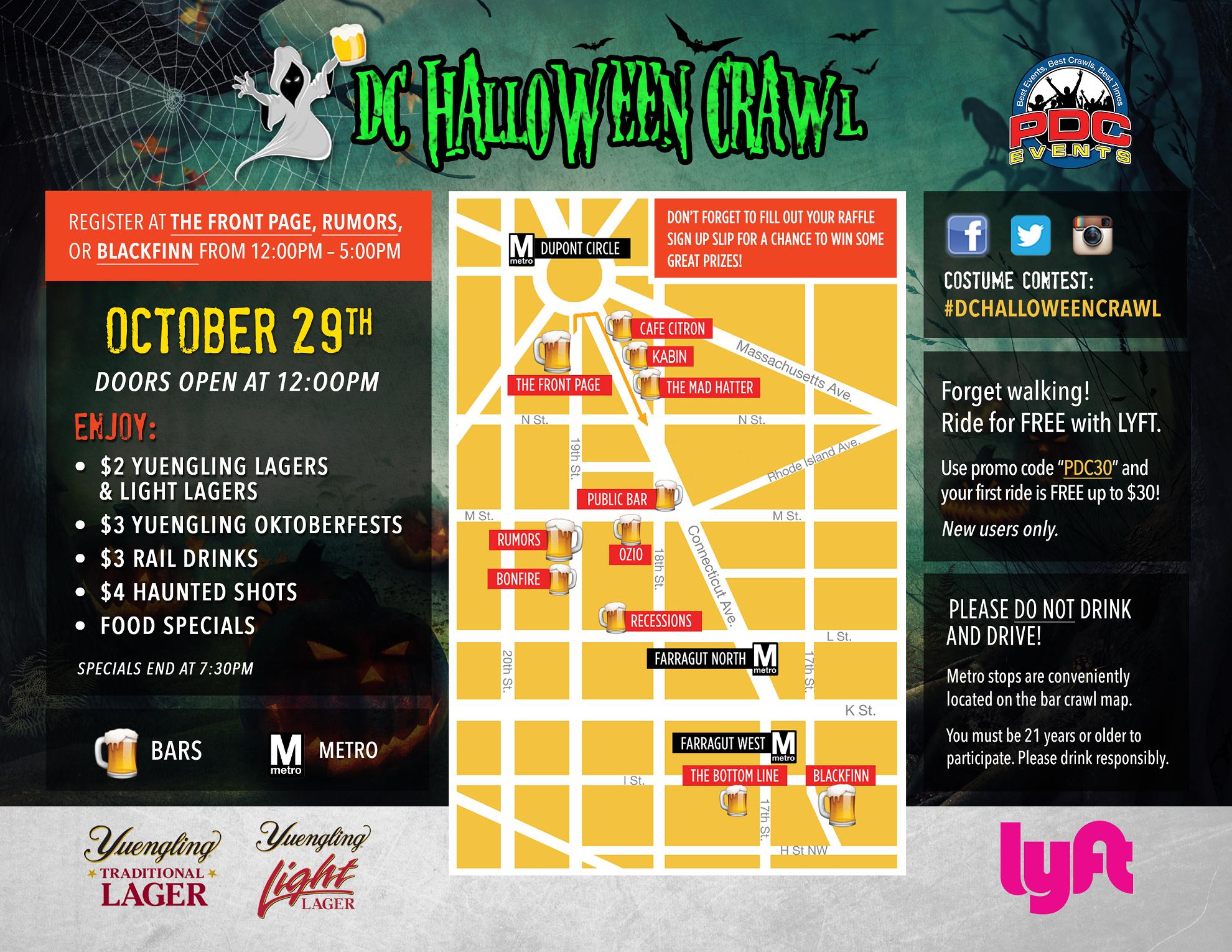 DC Halloween Crawl 2016