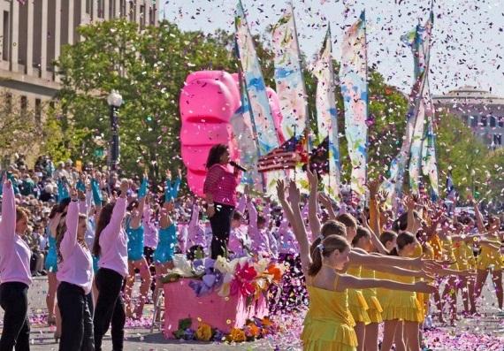 Cherry Blossom Parade - Washington DC