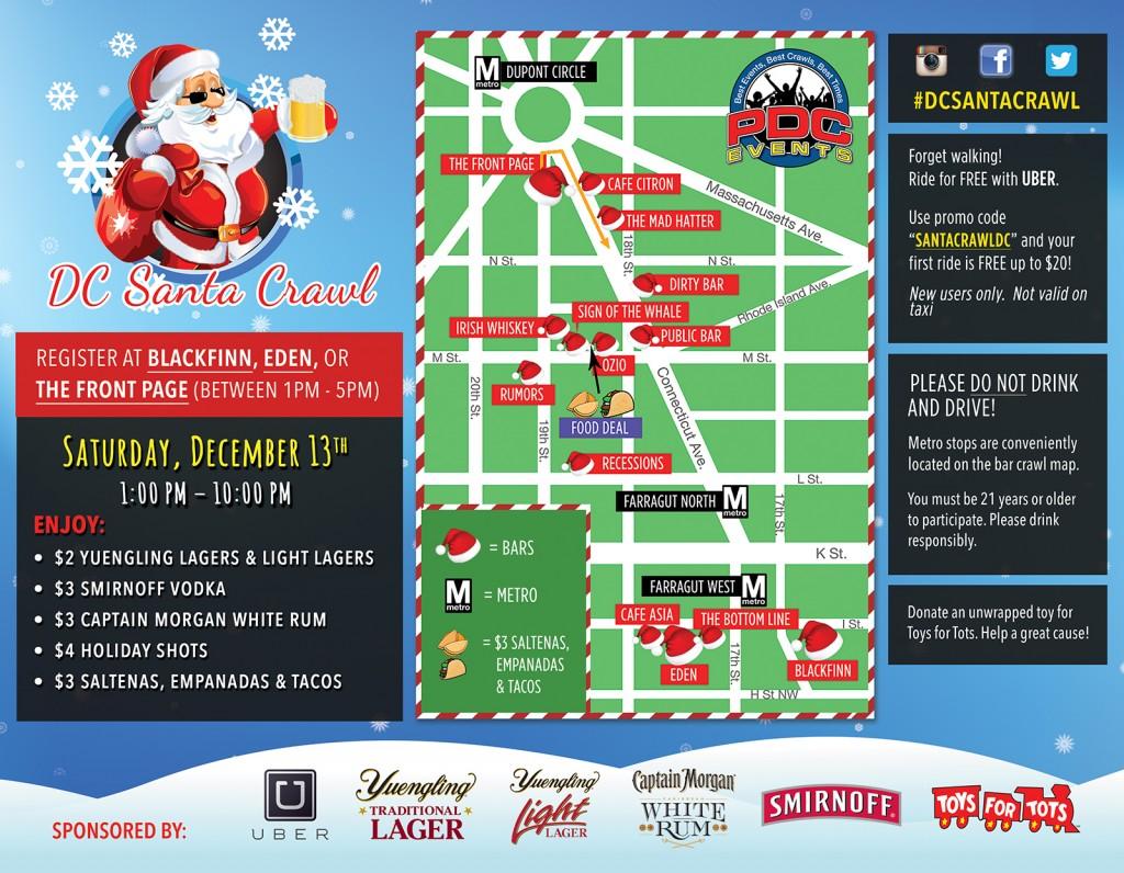 DC Santa Crawl 2014