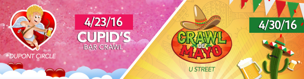 Cupid's Bar Crawl and Crawl de Mayo